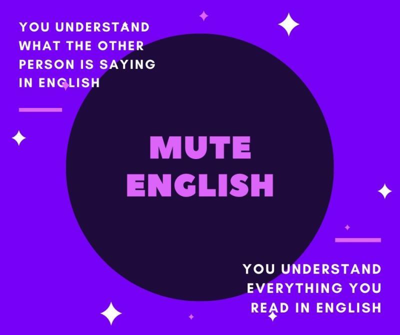 Mute English
